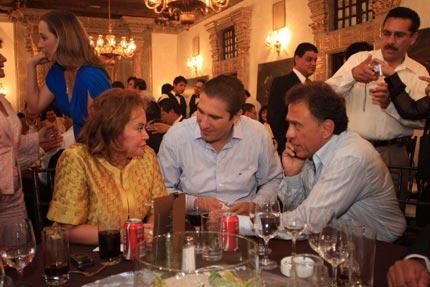 Elba Esther, Moreno-Valle y Miguel Angel Yunes. Los nuevos panistas.